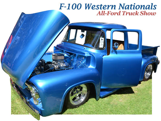 F-100 Western Nationals All-Ford Truck Show 2012