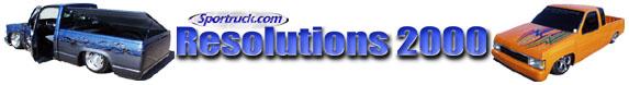 Sportruck.com presents - Resolutions 2000