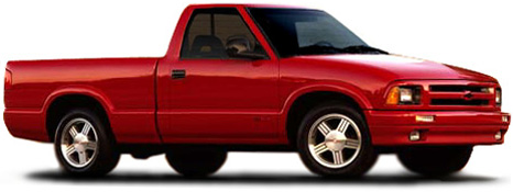 Chevrolet on 1997 Chevrolet S 10 Ss  2 Wheeldrive