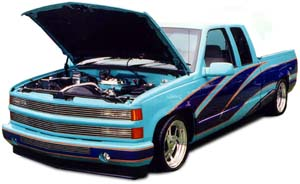 Blue Chevy C-1500