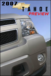 2007 Chevrolet Tahoe Preview