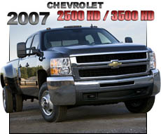 2007 Chevy 2500HD 3500HD