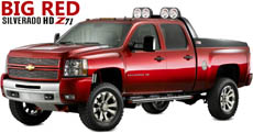 2008 Chevrolet Silverado HD Z71 Big Red
