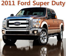 2011 Ford Super Duty Pricing and Information