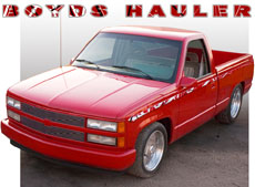 "Boyd's ""Eddie Van Halen"" Hauler"