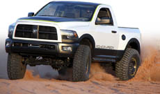 Mopar Trucks at Easter Jeep Safari