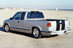 '97 S-10 Rear Side View