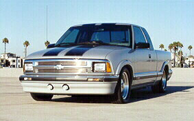 '97 S-10 Front View