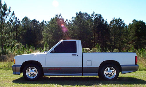 '92 Sonoma GT - Side View
