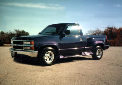 FS/FT: 1994 single cab chevy stepside w/ 350 and a lot of extras ...